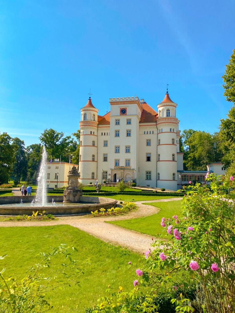 Palace Wojanów Lower Silesia