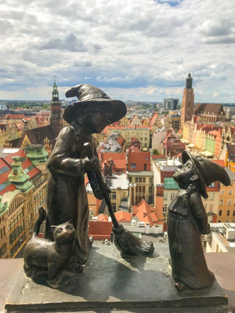 Breslau Zwerg auf der Magdalenenkirche