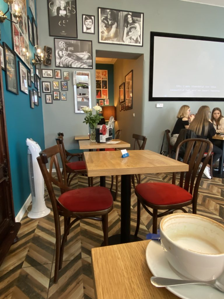 Kawiarnia Coffilm Film Cafe Wroclaw
