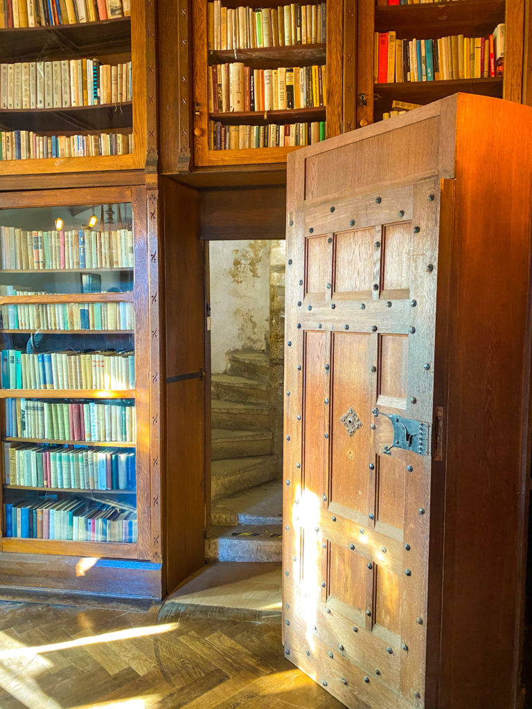 Geheime Tür in der Burg Tzschocha (Zamek Czocha)