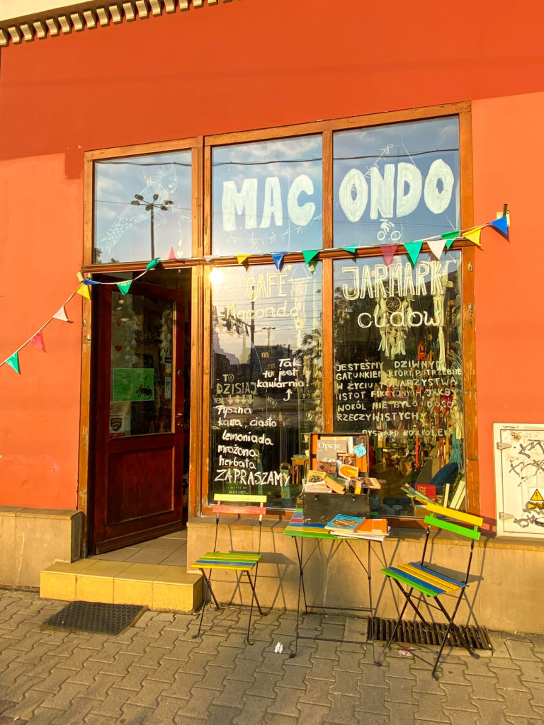 Macondo Cafe in Breslau