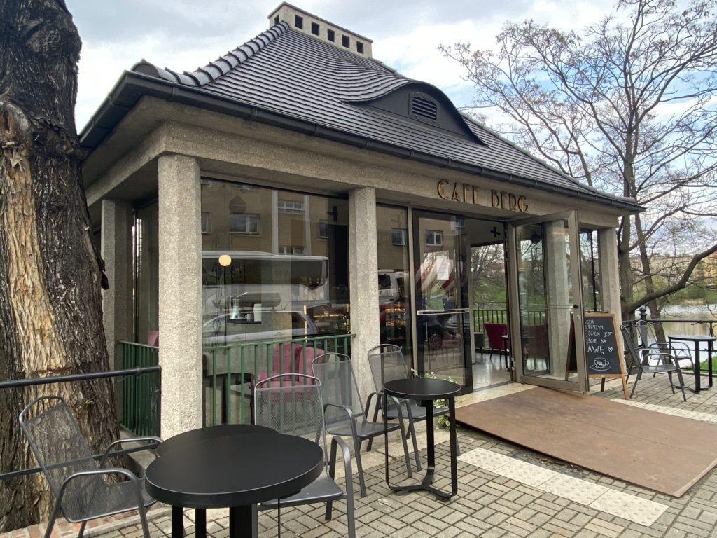 Café Berg in Breslau