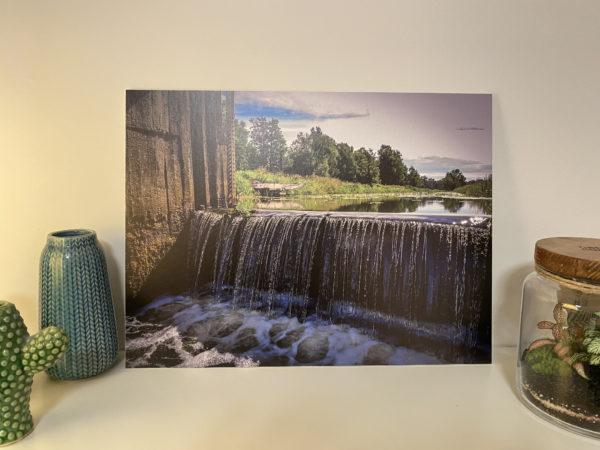 Fotodruck Wasserfall Bartsch Niederschlesien