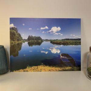 Fotodruck Landschaftsschutzpark Bartschtal