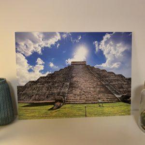 Mexiko chichen itza Fotodruck