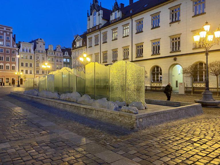 Fountain Wroclaw Rynek