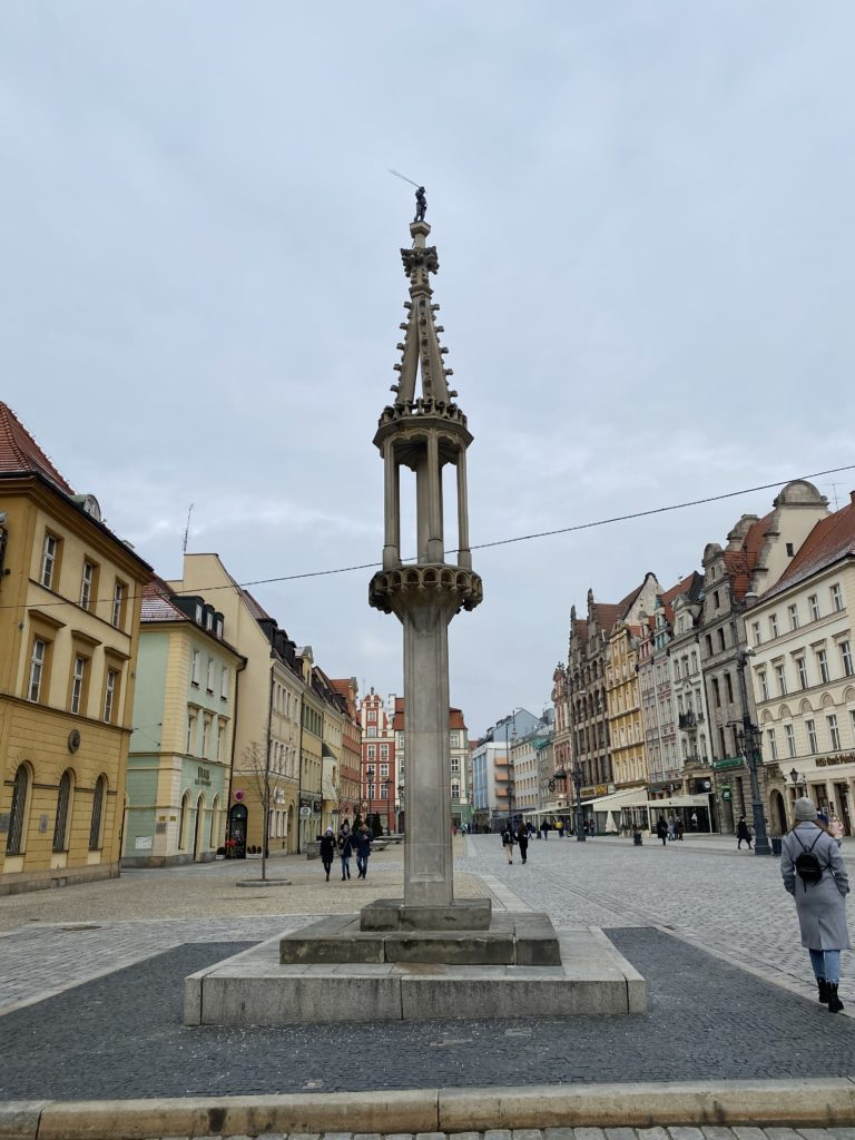Pillory Wroclaw