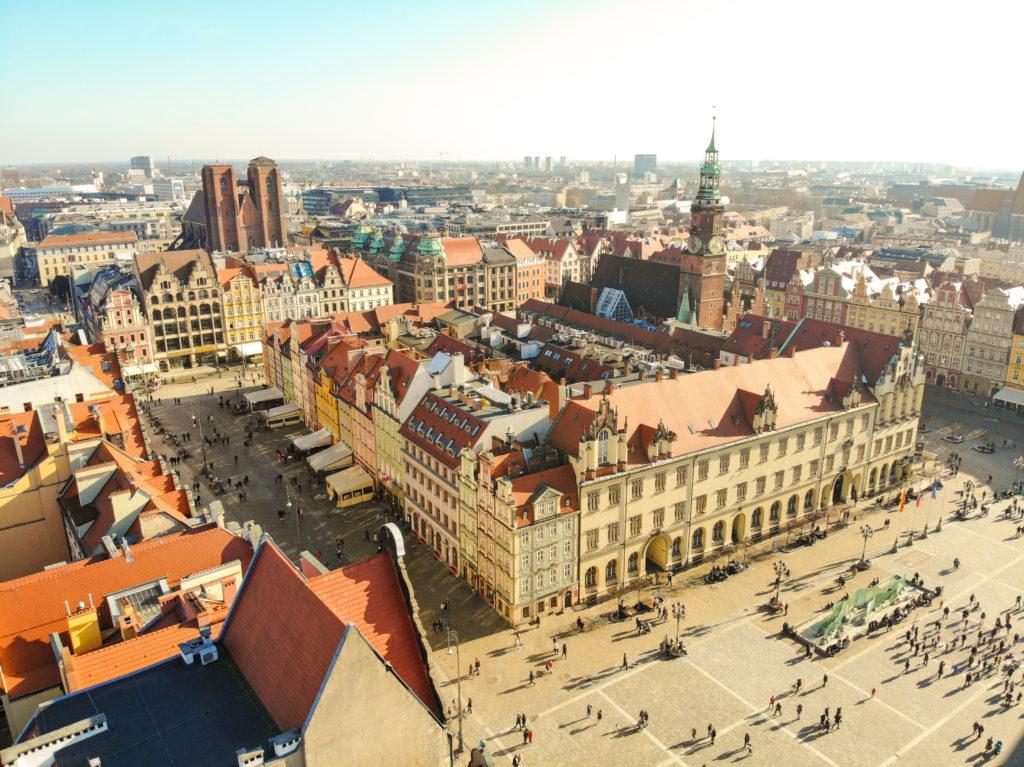 Market Square Wroclaw Rynek