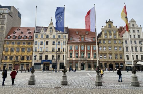 The Western Side of Wroclaw Rynek