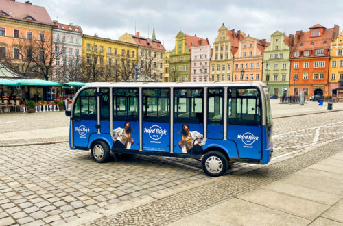 Electric Car Guided Tours Wroclaw