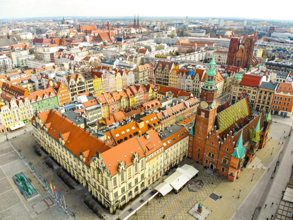 The Market Square Wroclaw