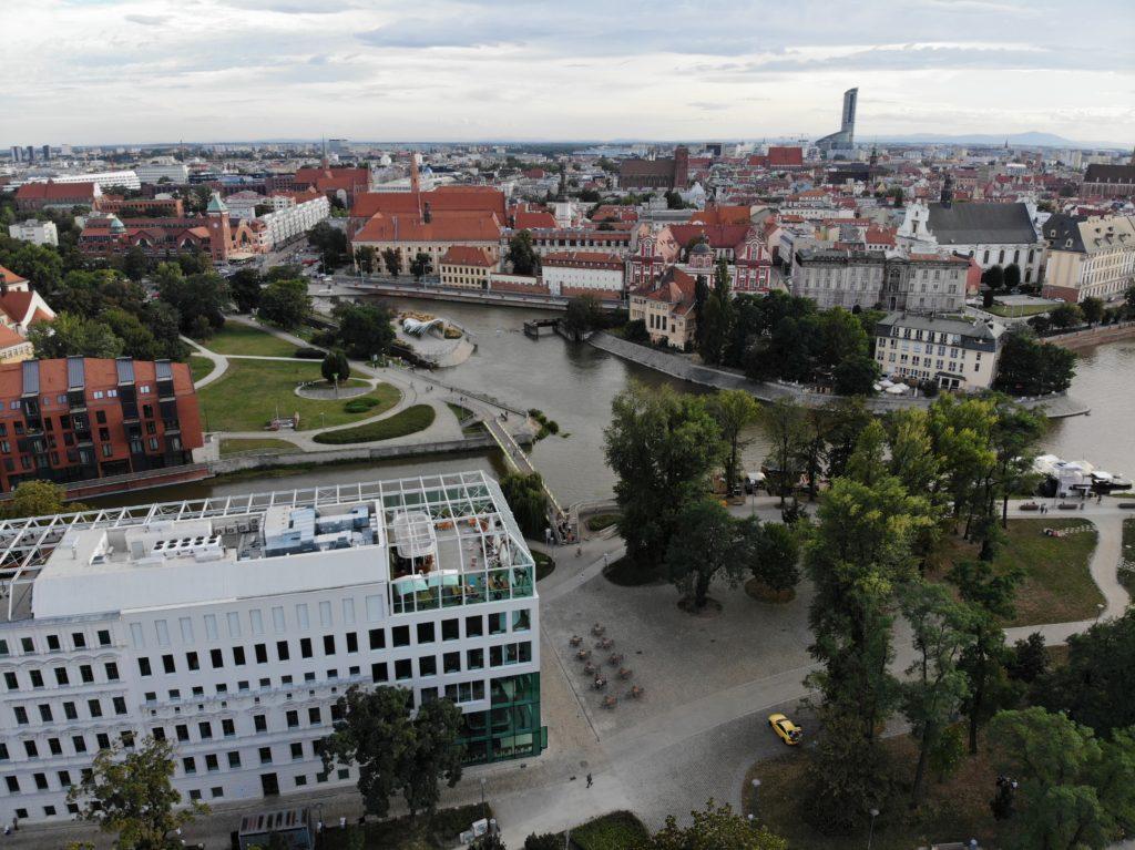 Slodowa Island in Wroclaw