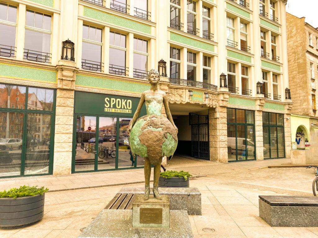 Planeta Sculpture Wroclaw