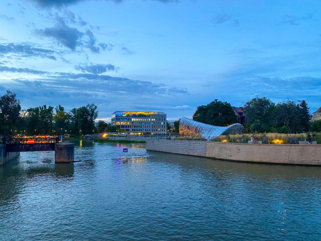 Oder und Wasser in Breslau