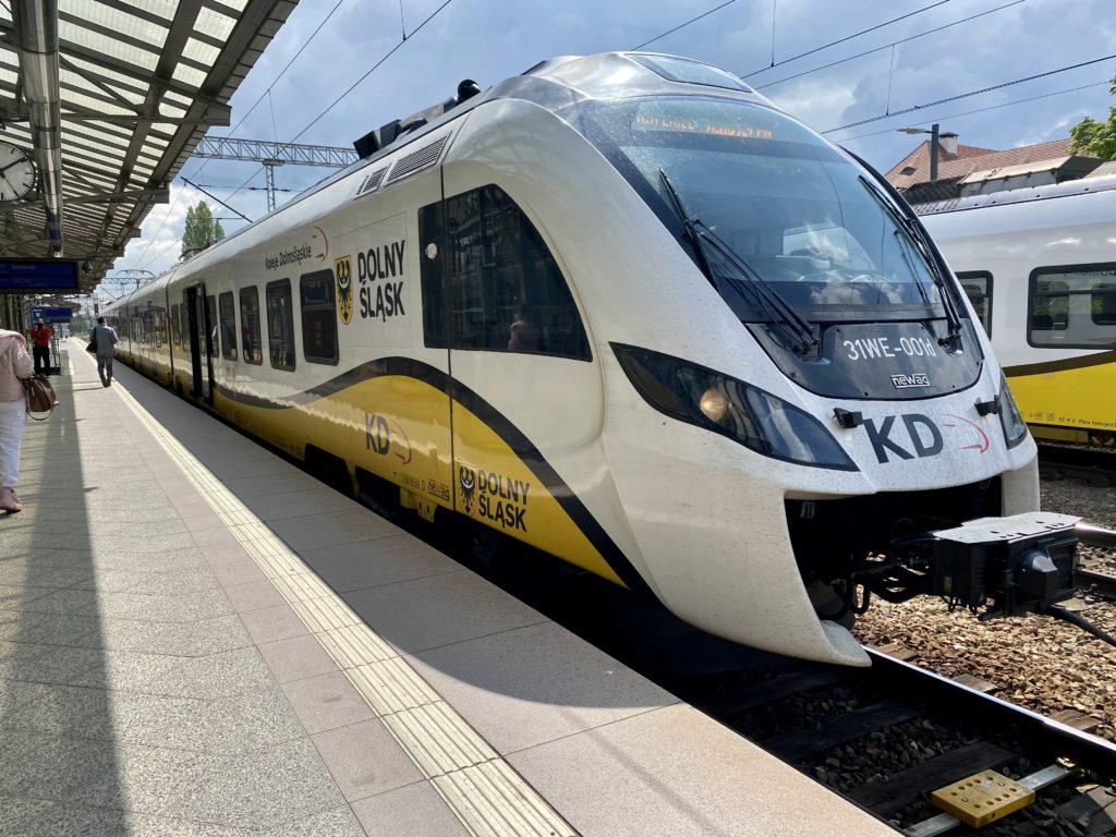 KD Train to Wroclaw