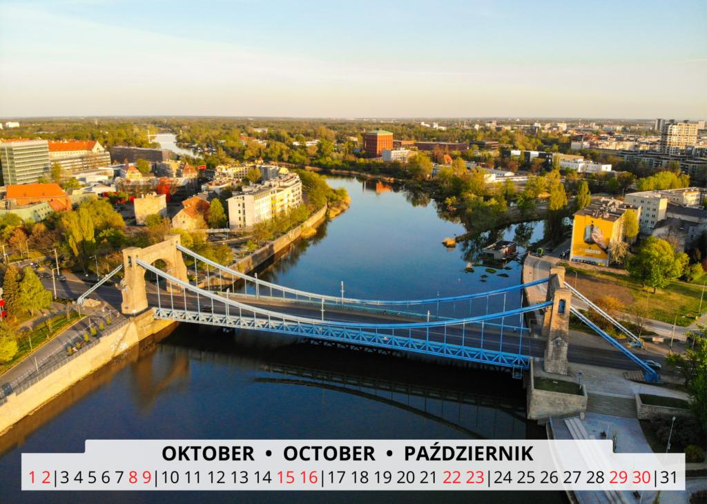October Breslau Wandkalender