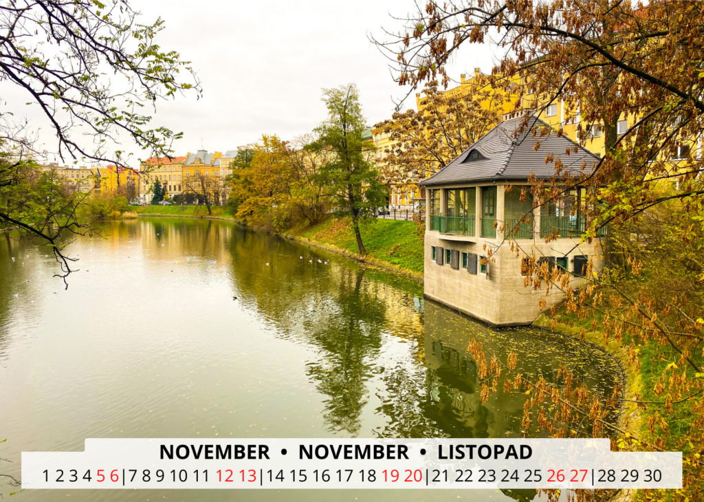 November Breslau Wandkalender