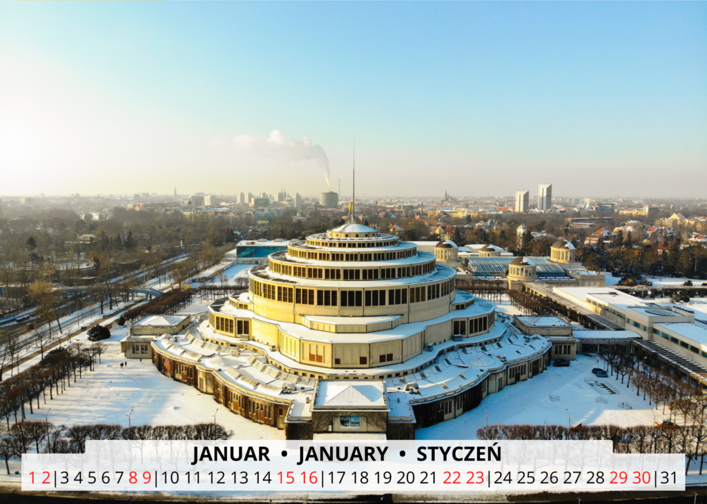 Januar Breslau Wandkalender