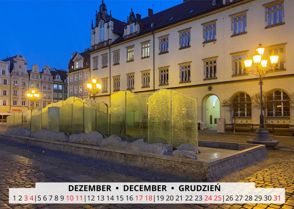 December Breslau Wandkalender