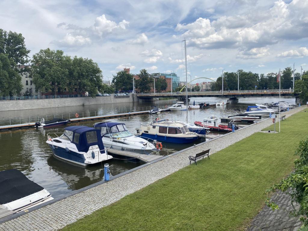 Solarboote in Breslau
